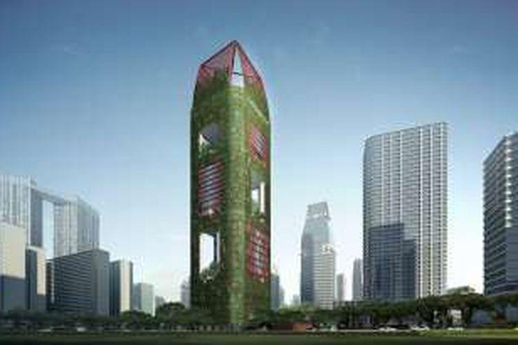 Gedung Oasia Hotel Downtoen Singapura