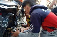 Pakai Knalpot Racing, Pengendara Motor di Cianjur Ditilang