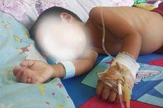 Kisah Rido Abdullah, Bocah 2 Tahun Penderita Tumor Ganas di Lombok Timur