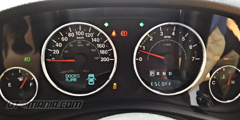 Mengenal panel speedometer