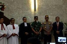 Pastikan Malam Natal Aman, Panglima TNI dan Kapolri Pantau Pengamanan Gereja