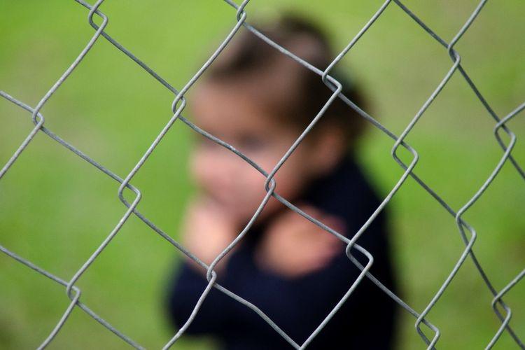 Ilustrasi perdagangan anak