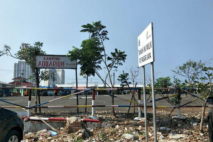 Kondisi Kampung Akuarium, Penjaringan, Jakarta Utara, Rabu (9/10/2019)