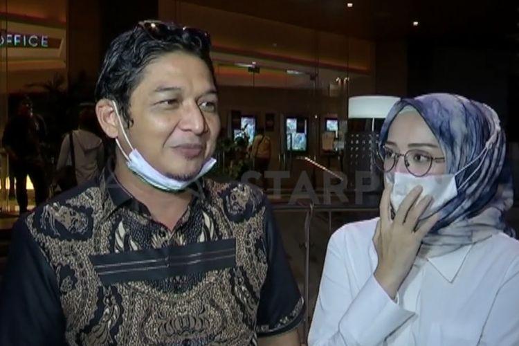 Pasha Ungu dan sang istri bicara soal