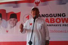 Deddy Mizwar: Prabowo Bukan Orang yang Tiba-tiba Ingin Jadi Presiden