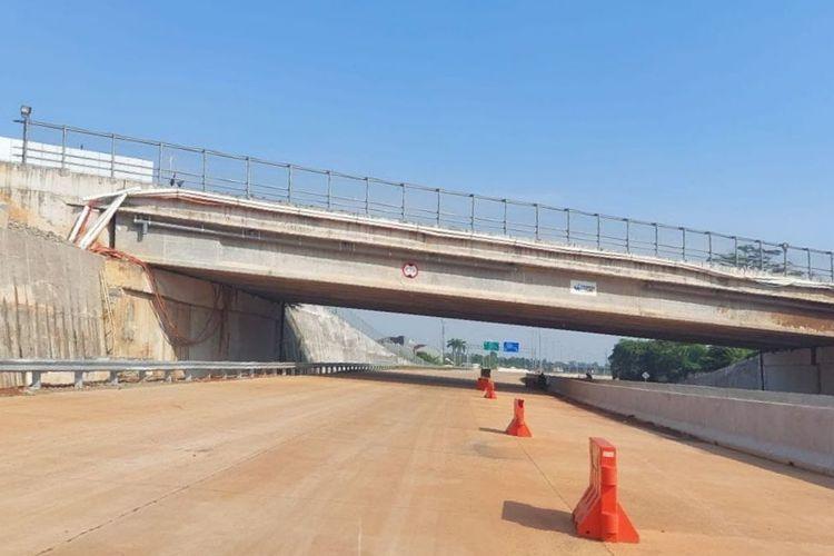 Konstruksi Jalan Tol Serpong-Cinere Ruas Pamulang-Cinere Selesai Oktober 2021