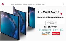 Huawei Bantah Ponsel Lipat Mate X Dijual Rp 24 Juta di Indonesia