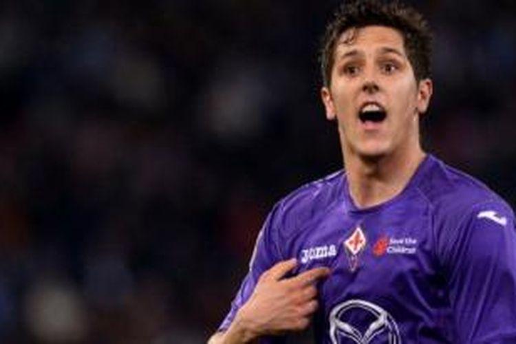 Penyerang Fiorentina, Stevan Jovetic.