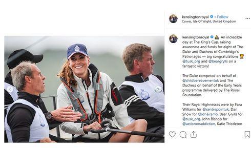 Pertama Kali, Kate Middleton Difoto Pakai Celana Pendek