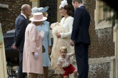 Putri Pangeran Williams-Kate Middleton DIbaptis di Gereja Sandringham
