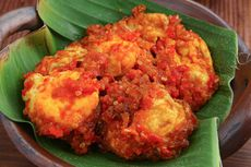Resep Telur Ceplok Balado Padang, Cara Bikinnya Mudah