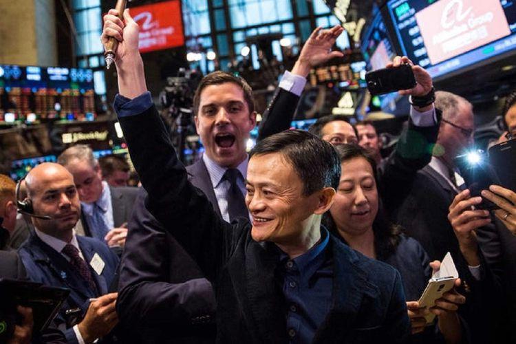 Jack Ma pendiri Alibaba.