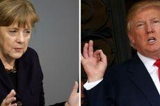 Akhirnya, Trump Bertemu Merkel di Gedung Putih