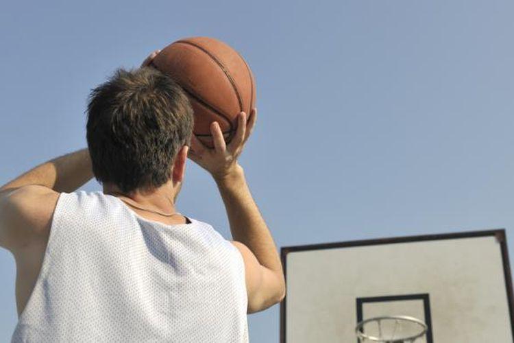 Ilustrasi olahraga basket.