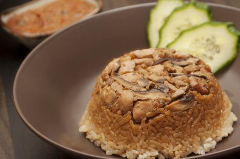 Resep Nasi Tim Ayam Saus Tiram, Masak Singkat Pakai Rice Cooker