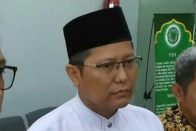 Cholil Nafis saat menjabat Ketua Komisi Dakwah MUI Muhammad Cholil Nafis, Sabtu (4/5/2019).