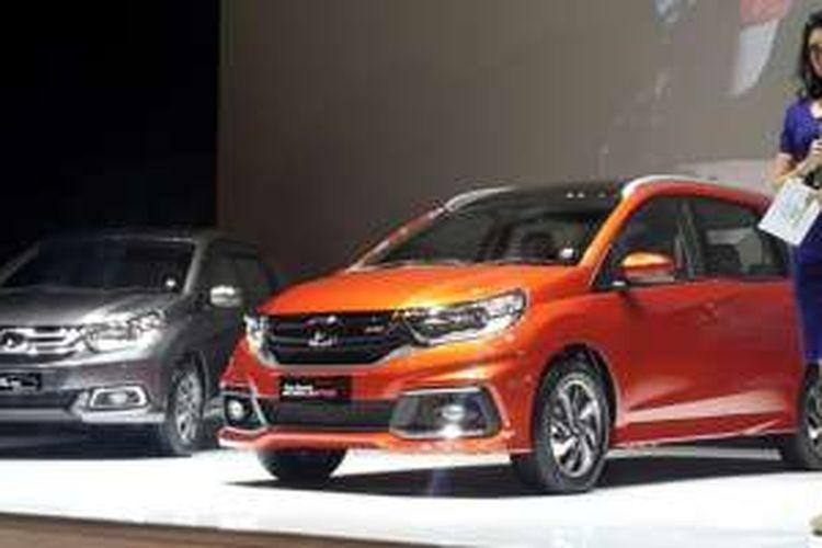 Honda memulai awal 2017 dengan meluncurkan Mobilio facelift di Jakarta, Kamis (12/1/2017).