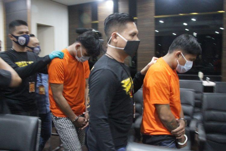 Tersangka kasus penjambretan HP di Tamansari, Jakarta Barat