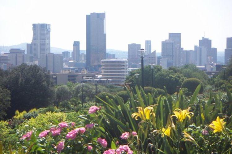 Pusat kota Pretoria, Afrika Selatan.
