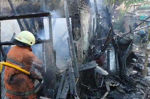 Kebakaran Hanguskan 5 Rumah Kontrakan di Cengkareng, Kerugian Ditaksir Rp 950 Juta