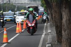 Pelanggar Aturan Jalur Sepeda Didominasi Pengendara Motor