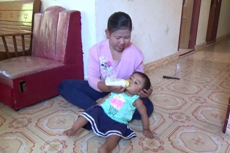 Setelah Viral dan Dikritik Publik, Bocah Pecandu Kopi di Polewali Akhirnya Beradaptasi Minum Susu dan Makan Biskuit