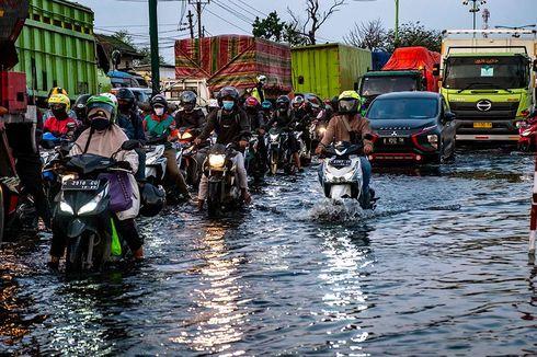 Pantai Mutiara Banjir, Begini Cara Menangani Motor Terendam Air Laut
