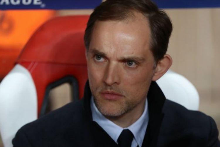 Pelatih Paris Saint-Germain, Thomas Tuchel.