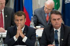 Presiden Perancis Marah karena Presiden Brasil Hina Sang Istri
