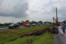 Hati-hati, Masih Ada Contraflow di Tol Cipali Km 122