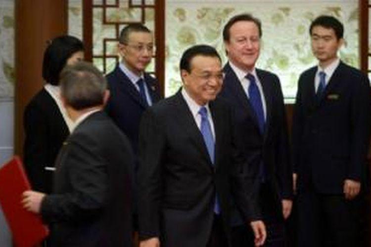 Kunjungan David Cameron didamiping lebih dari 100 pengusaha Inggris.