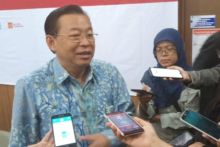 Managing Director Sinar Mas, G. Sulistiyanto menyebut perlunya keterlibatan pemerintah dan dunia usaha dalam penguatan pendidikan vokasi di sela-sela Seminar Revitalitasi Pendidikan Tinggi Vokasi yang digelar di Universitas Prasetiya Mulya, Jakarta (17/7/2019).