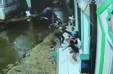 Video Aksinya Viral, Penjambret Handphone 4 Remaja Sudah Ditangkap Polisi