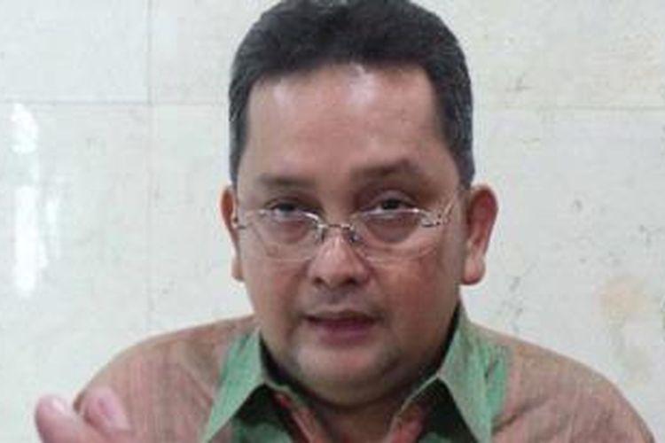 Politisi PDI Perjuangan yang juga menjabat sebagai Ketua Badan Kehormatan DPR RI Trimedya Panjaitan