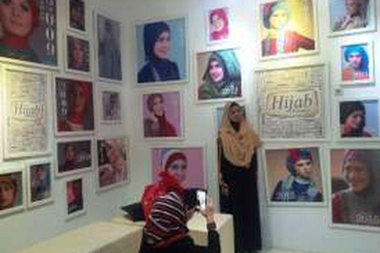 Museum hijab di Hijab Factory, Jalan Pelajar Pejuang 45 No.25 Kota Bandung.