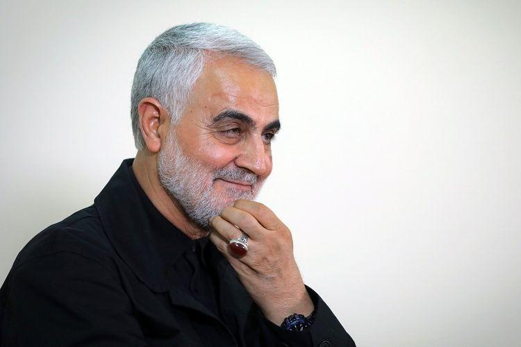 Komandan tertinggi Garda Revolusi Iran, Mayor Jenderal Qassem Soleimani.