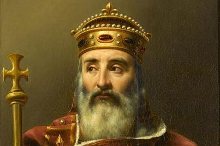 Charlemagne, penguasa Eropa Barat abad pertengahan. [Via Wikimedia Commons]