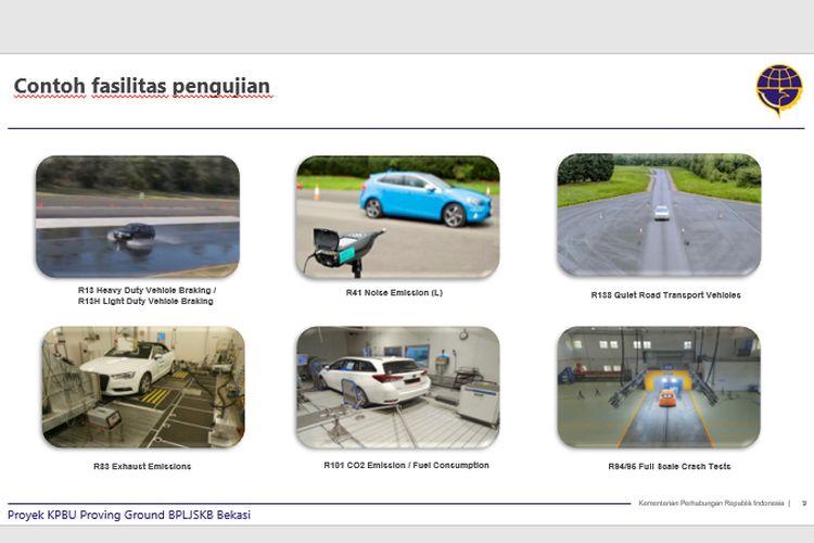 Proving Ground Uji Kendaraan di Bekasi