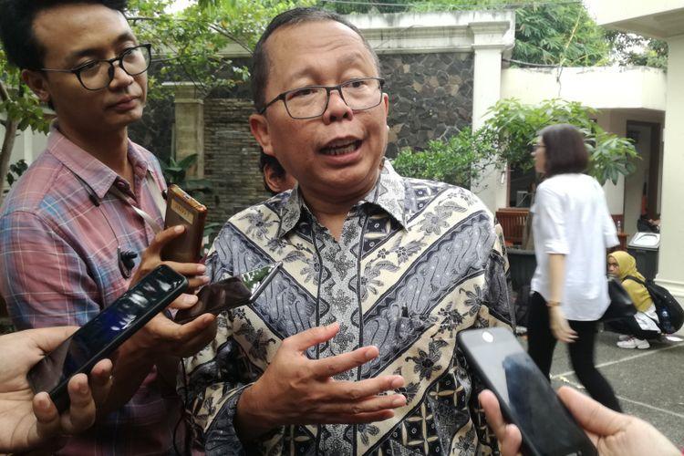 Wakil Ketua Tim Kampanye Nasional Pasangan Joko Widodo-Maruf Amin, Arsul Sani