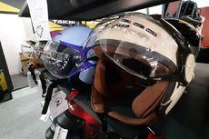 Hunting Helm Khusus Wanita Hijabers di IIMS Motobike Expo