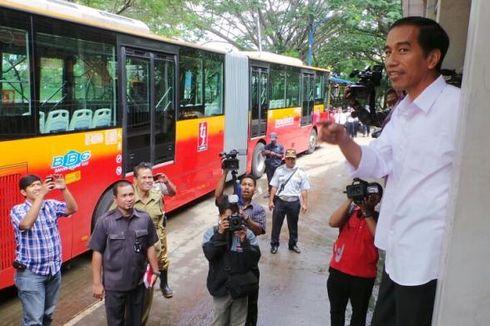 Jokowi Seleksi Direksi PT KAI Masuk Birokrasi Transjakarta
