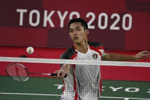 Kata Jonatan Christie Usai Lolos ke 16 Besar Olimpiade Tokyo 2020 sebagai Juara Grup