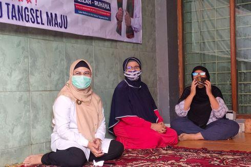 Blusukan di Wilayah Pamulang, Siti Nur Azizah Ajak Warga Perbanyak Konsumsi Tanaman Ini