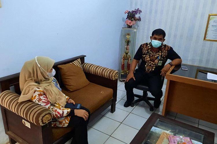 Lurah Pandeglang, Banten Muhammad Apendi.