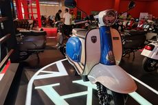 Tantang Vespa dan Lambretta, Royal Alloy Meluncur di IIMS Hybrid 2021