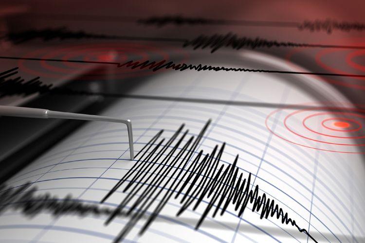 Seismograf, alat pencatat gempa bumi.