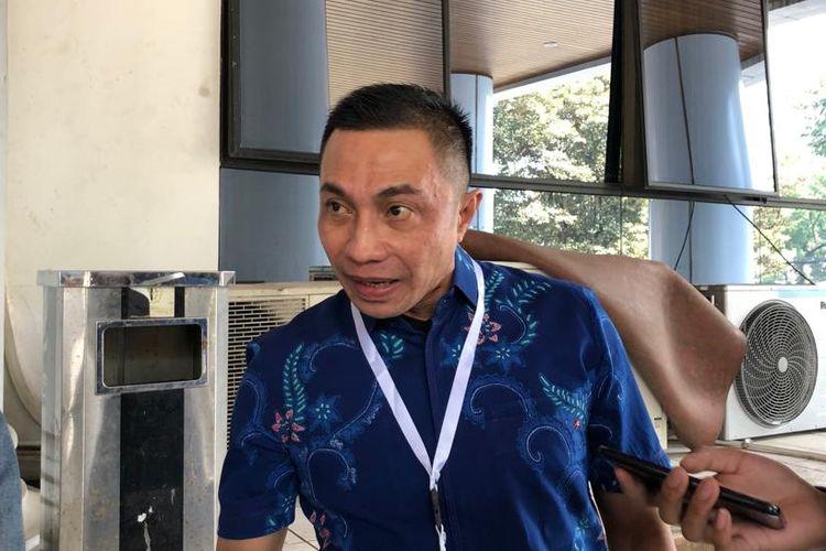 Irjen Dharma Pongrekun saat menghadiri seleksi profile assessment capim KPK di Gedung Lemhanas, Kebon Sirih, Jakarta Pusat, Kamis (8/8/2019)