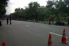 Ada Demo Buruh, Jalan Depan Istana Dialihkan