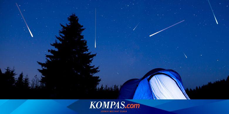 Malam ini puncak hujan meteor Lyrid, berikut 3 fakta menariknya