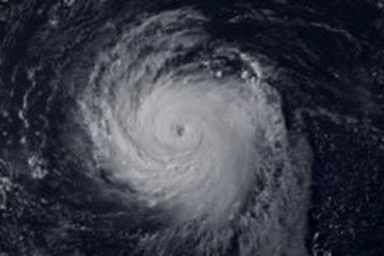 Kekuatan topan Soulik diperkirakan mencapai 173 km/jam.